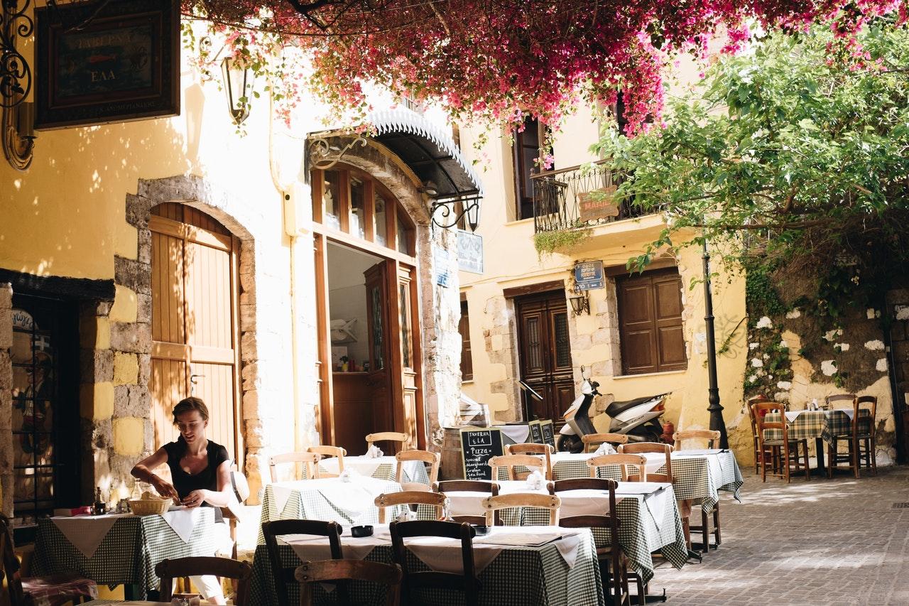 Fotos da Grécia atual