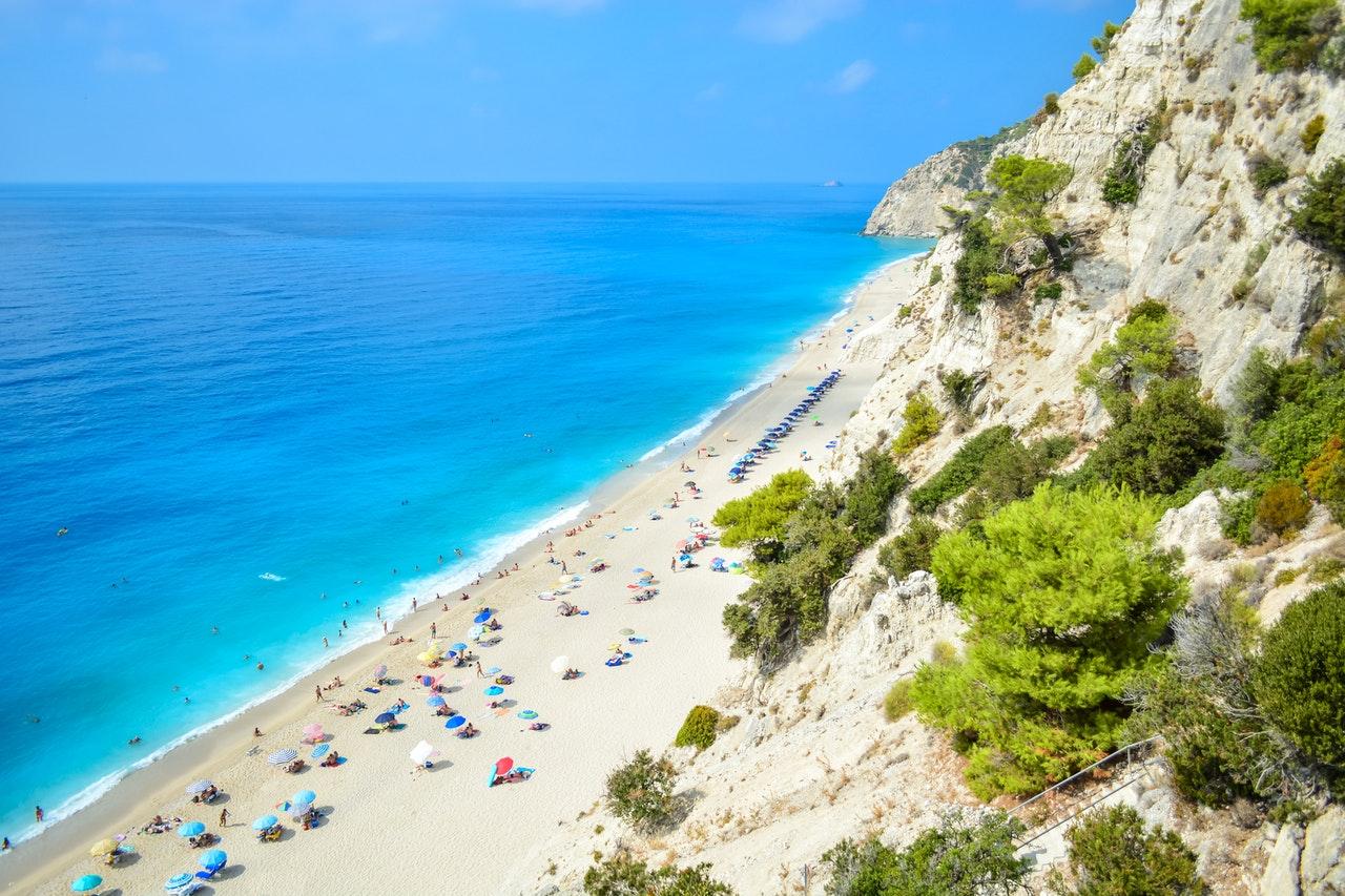 fotos de praias da Grécia