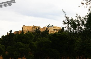 Acrópole de Atenas.