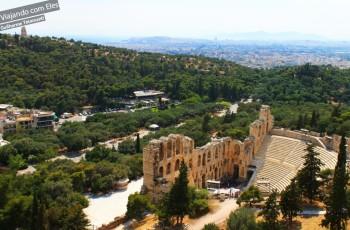 Teatro da Acrópole.