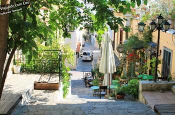 Viela em Atenas.