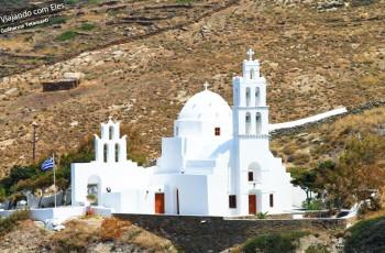 Igreja em uma das ilhas gregas.