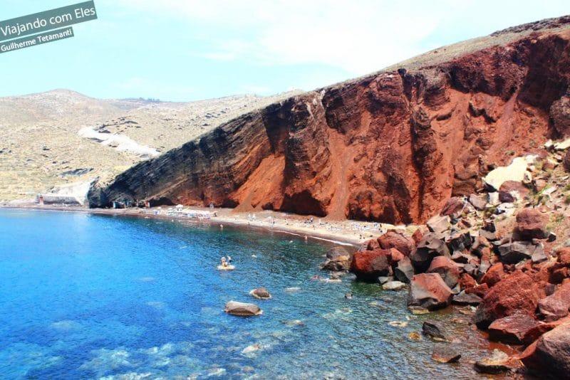 Roteiro em Santorini pelas praias