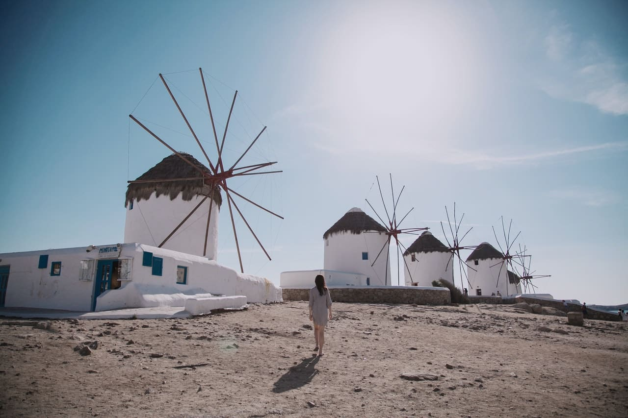 imagens lindas da Grécia