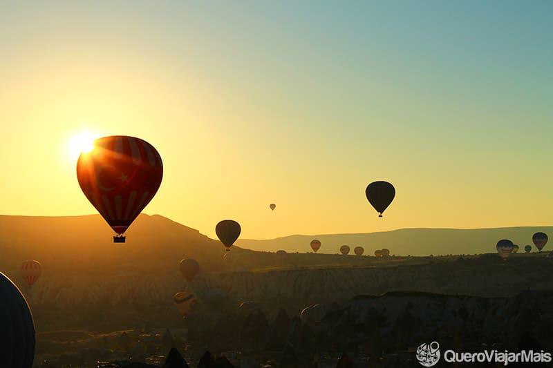 Quanto custa um passeio de balão na Capadócia?