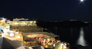 Viajar para Santorini