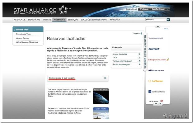 Passagem aérea da Star Alliance