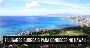 Pontos turísticos mais bonitos do Hawaii