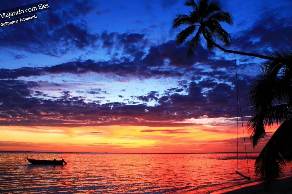 Meu pôr-do-sol mais bonito do mundo.