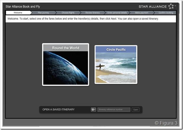 Tarifa de volta ao mundo da Star Alliance