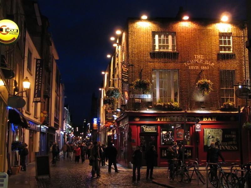 Onde ficar em Dublin / Temple Bar.