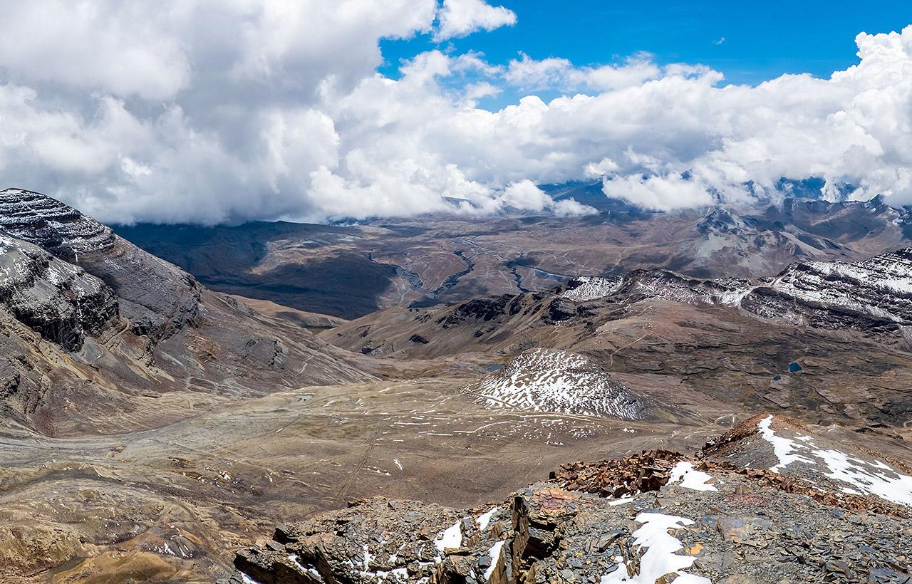 Monte Chacaltaya em La Paz