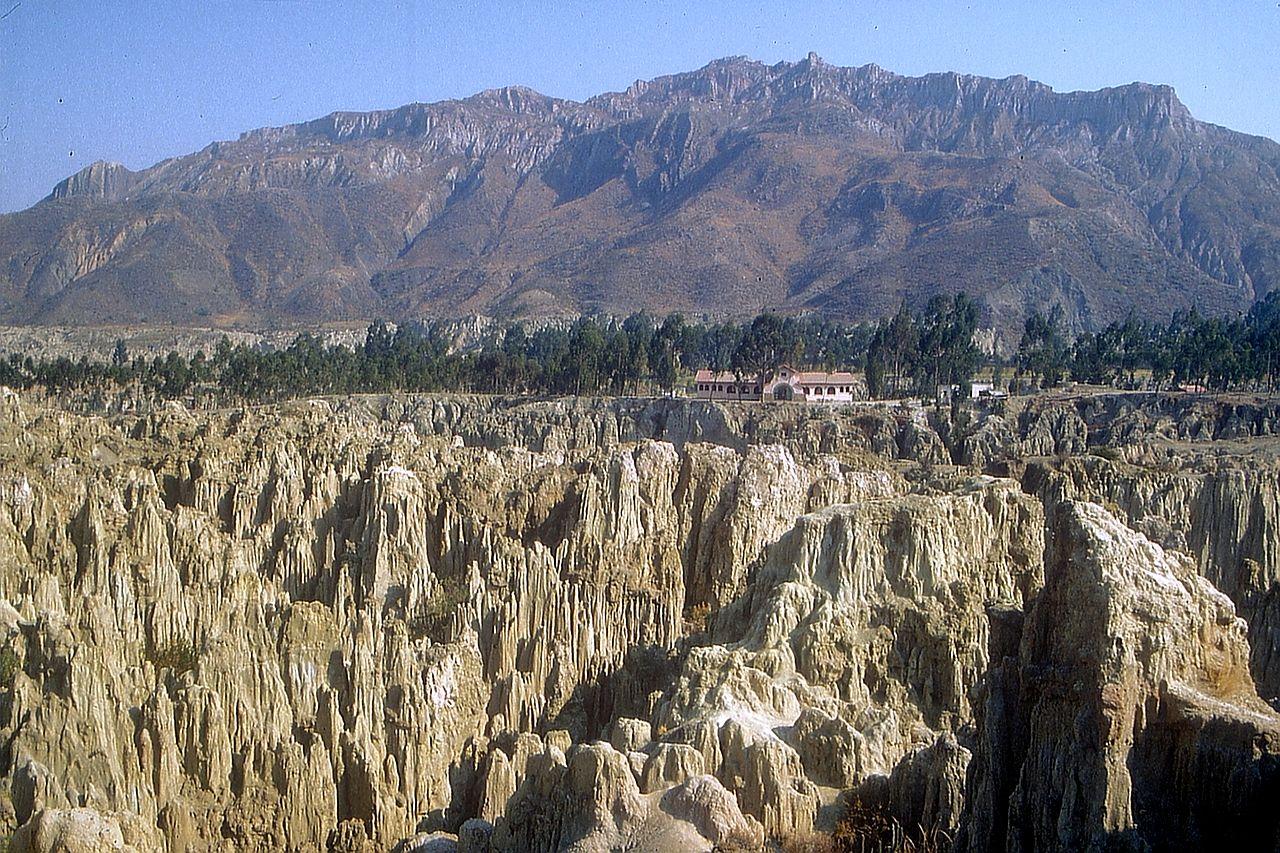 Valle de la Luna, em La Paz