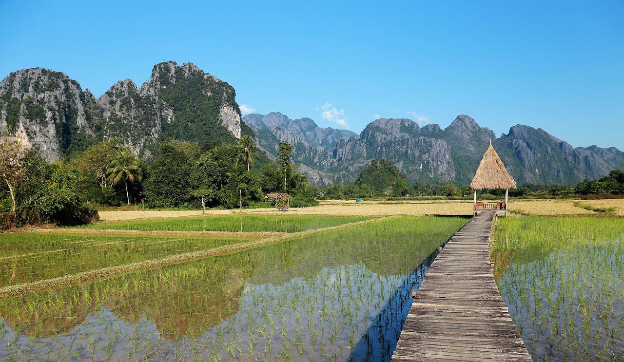 cidades do laos