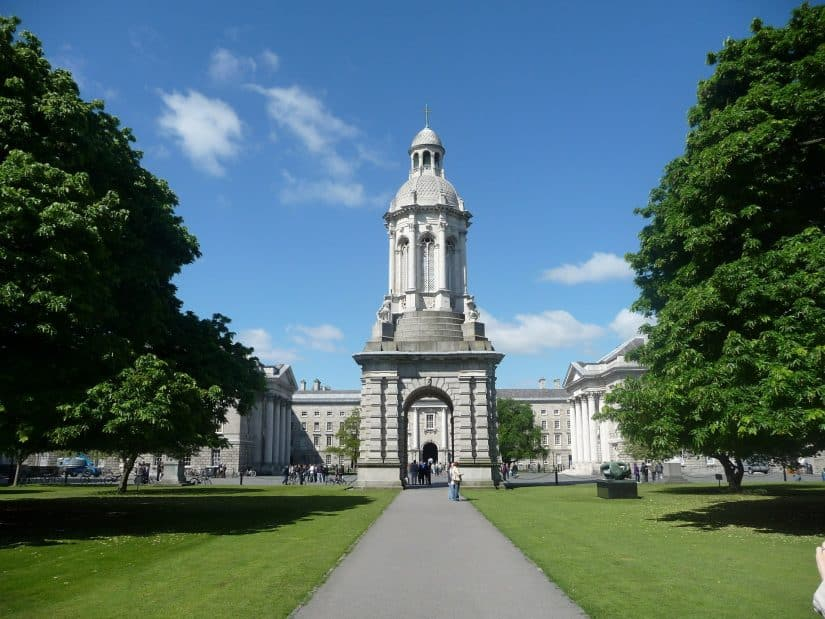 Trinity College em Dublin