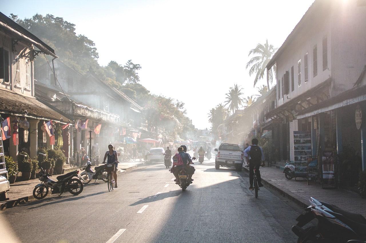 região turistica do laos