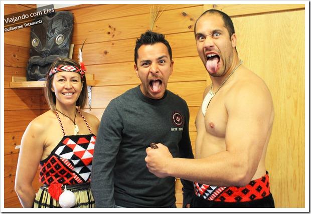 Conhecer a cultura maori é opção de turismo.