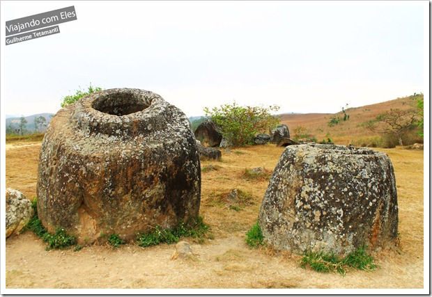 Plain of Jars, presente na história do Laos.