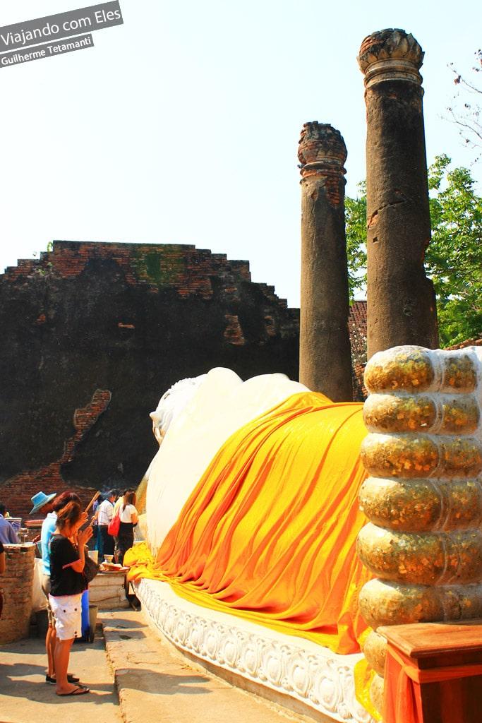 Templos de Ayutthaya.