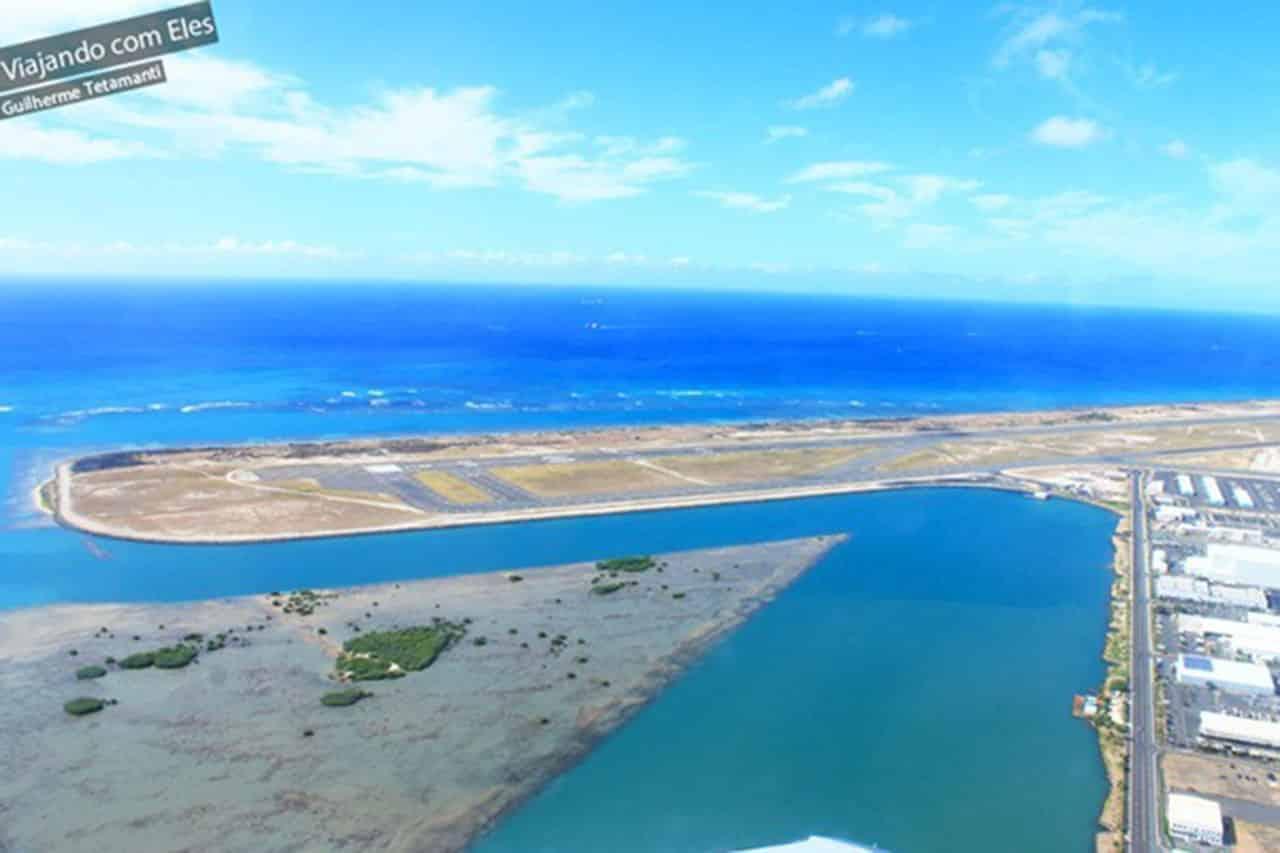 fotos de vistas aéreas aeroporto de Honolulu