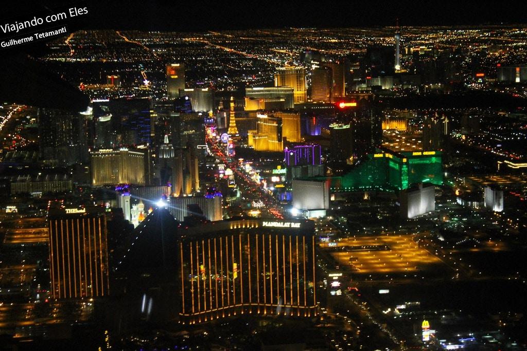 Final de semana em Las Vegas.