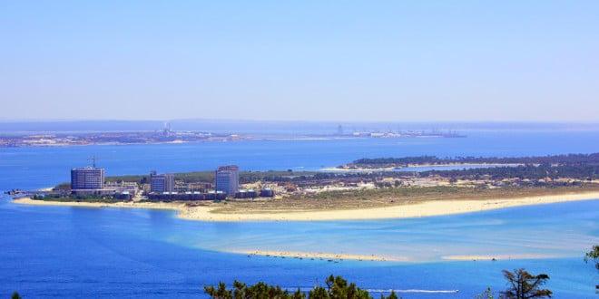 Praia em Troia - Portugal