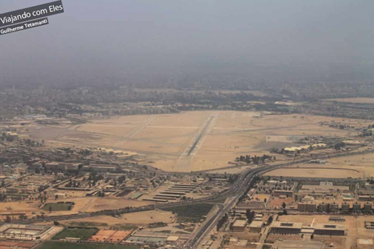 fotos de vistas aéreas aeroporto de Cairo