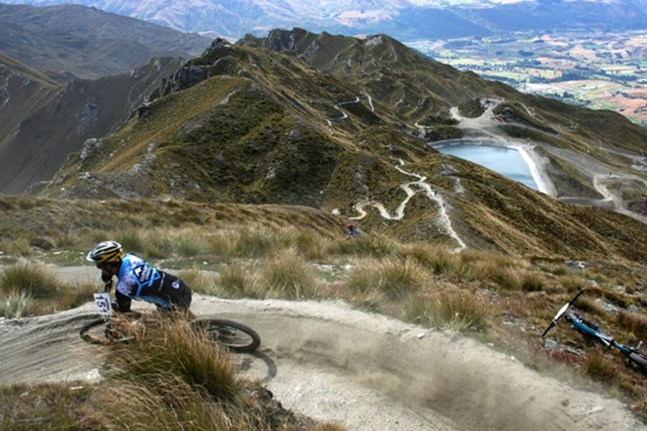 Downhill de Mountain Bike em Queenstown