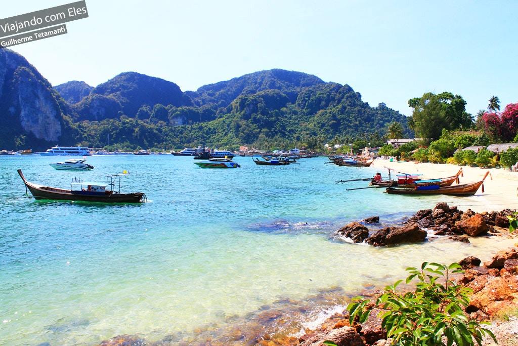Barcos em Koh Phi Phi