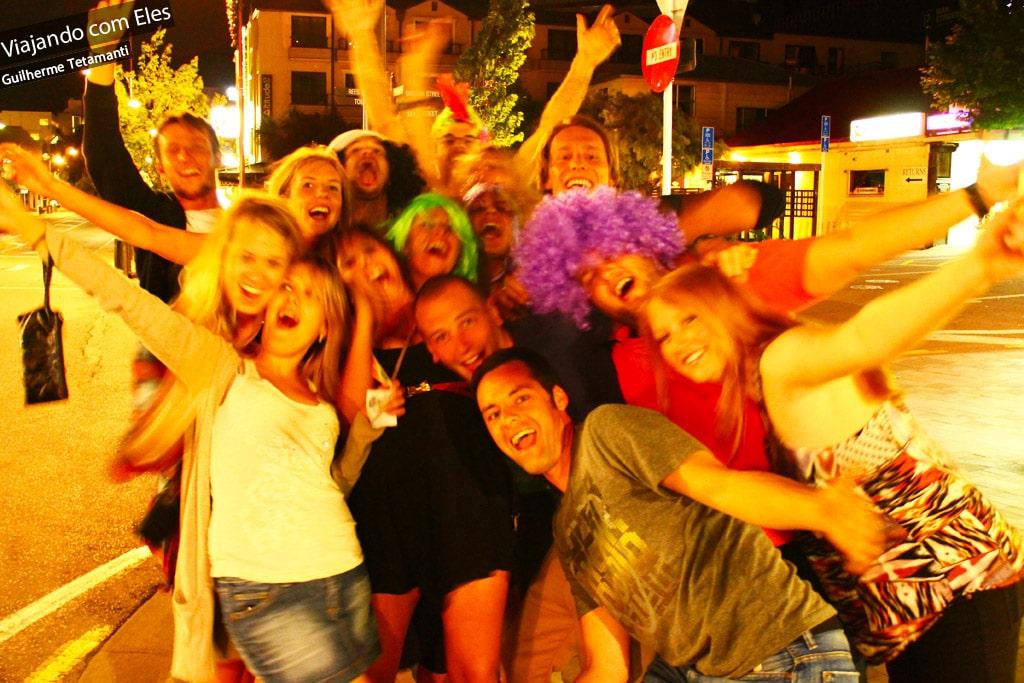 Festa em Queenstown