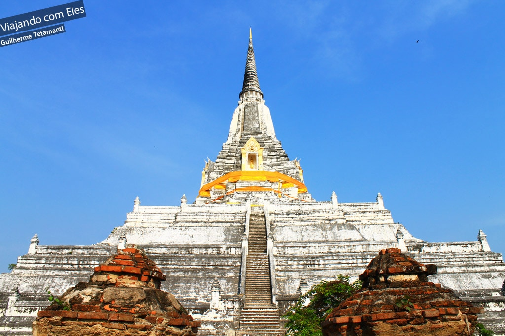 Os Templos de Ayutthaya