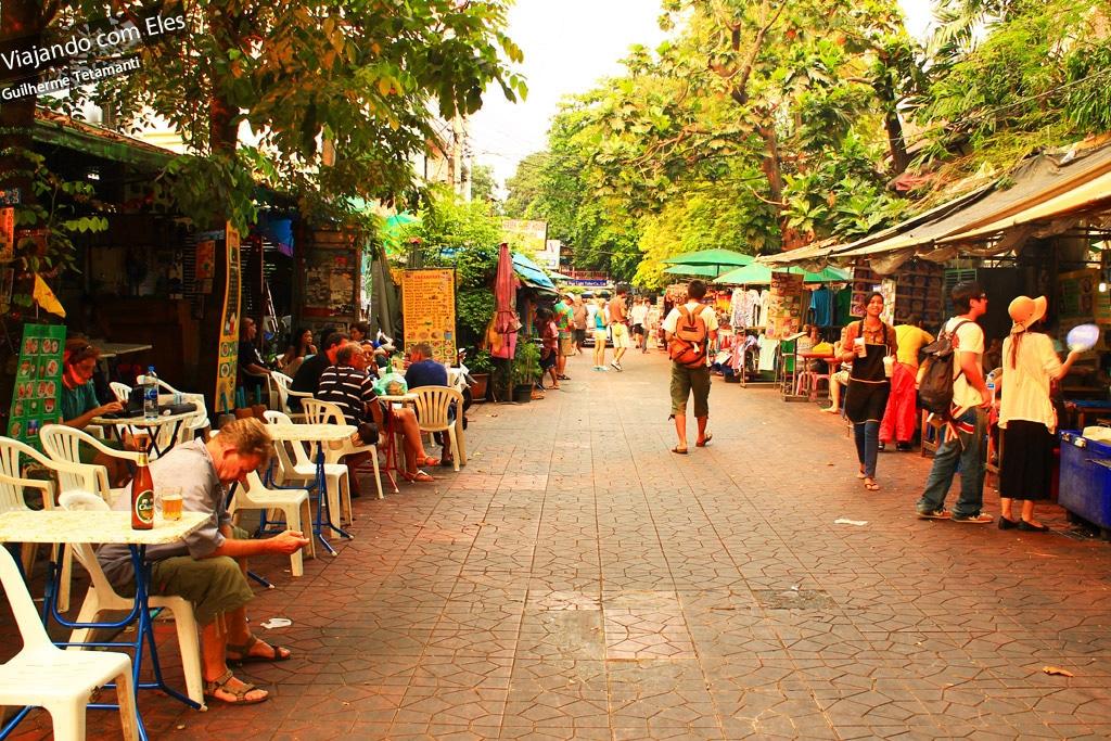 Explorando outros pontos de Bangkok