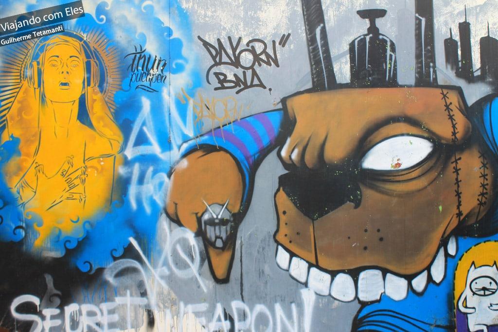 Grafite em Bangkok