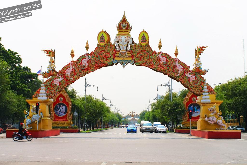 Portais de Bangkok