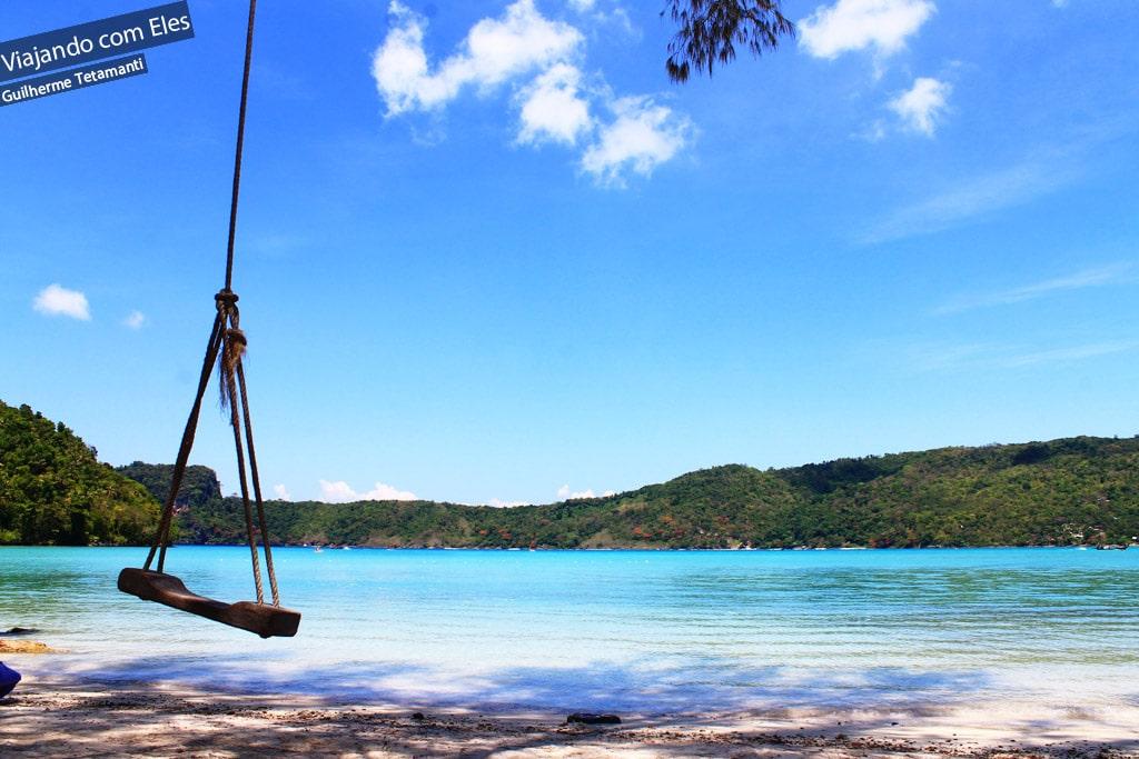 Lindas praias de Koh Phi Phi