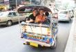 Tuk-tuk em Bangkok.