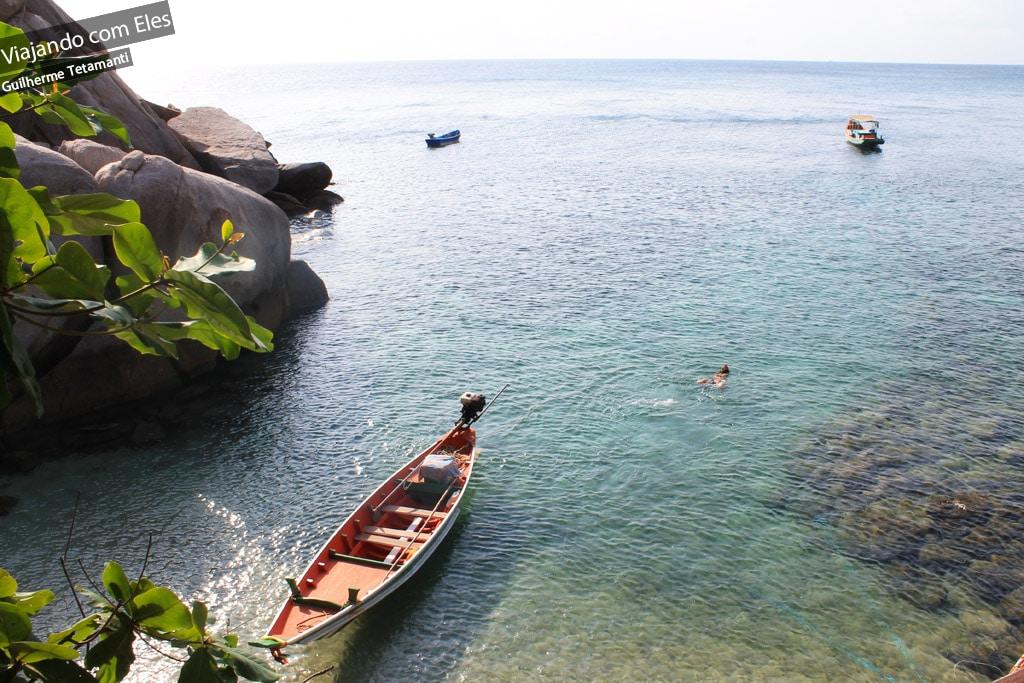 Ilha de Koh Tao.