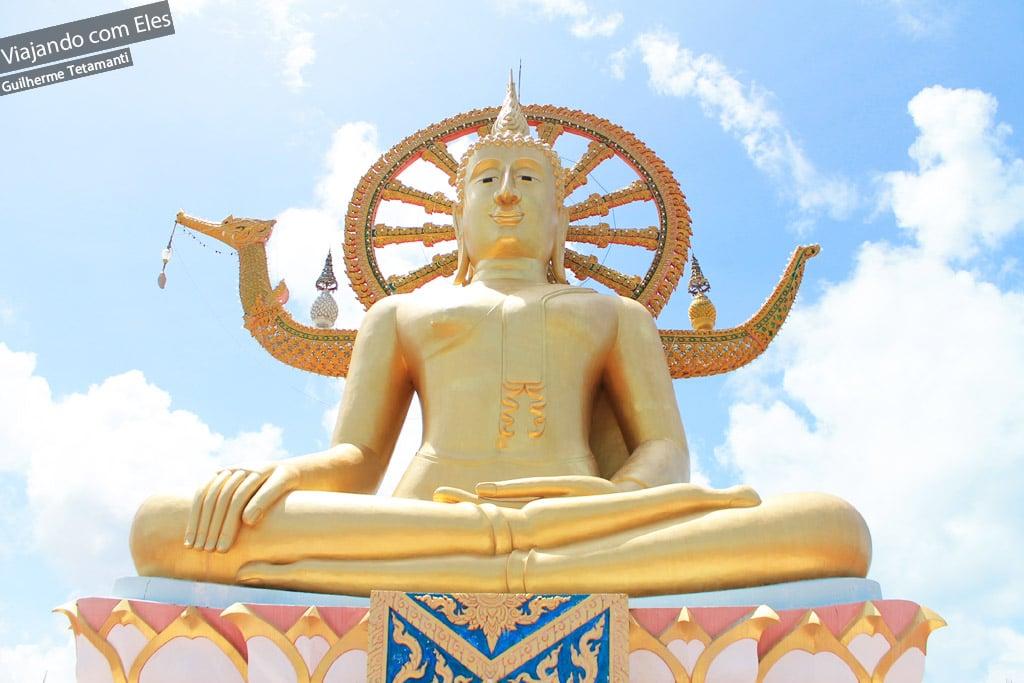 Tempo do Grande Buddha em Koh Samui