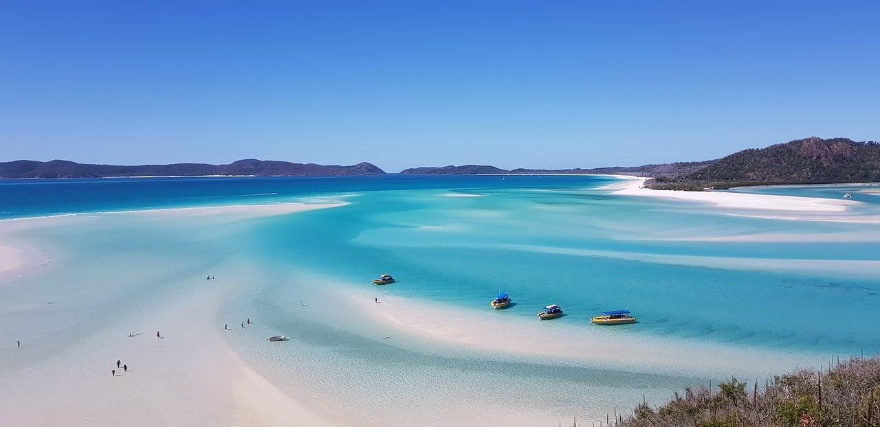 praia na oceania