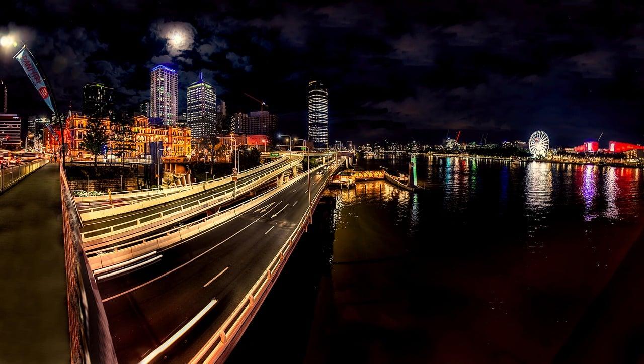 roteiro em Brisbane