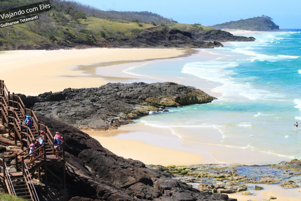 Fraser Island, destino famoso na Austrália.
