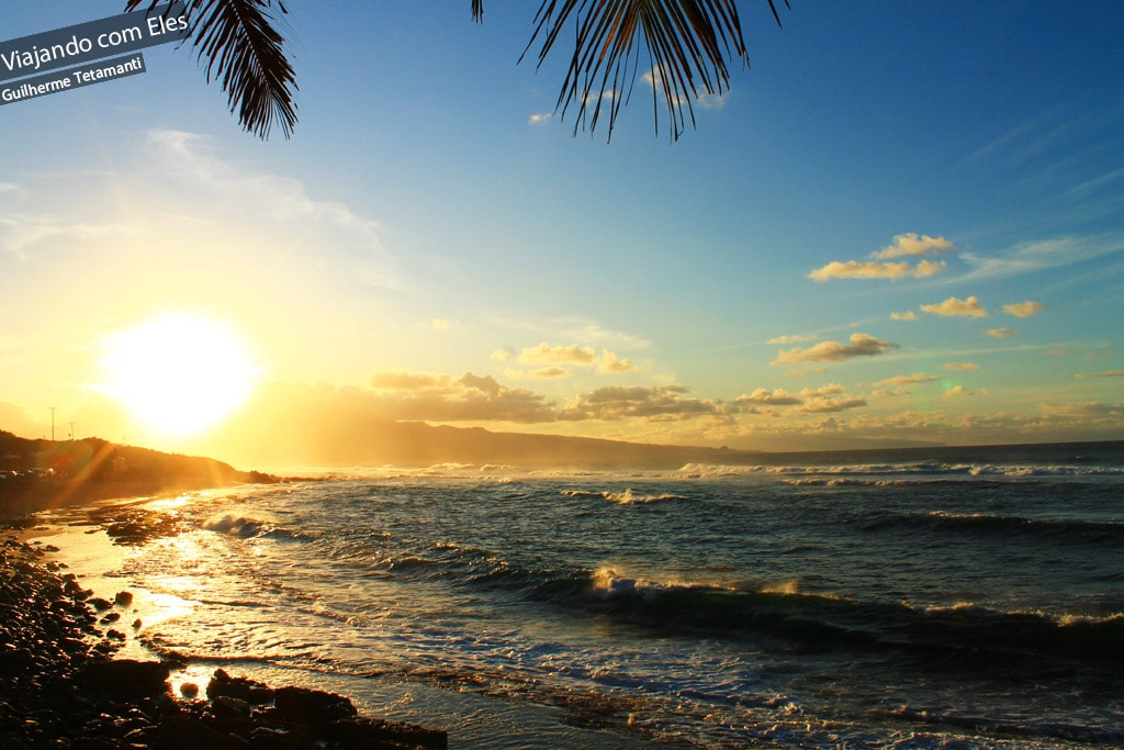 Praia de Hookipa, em Maui