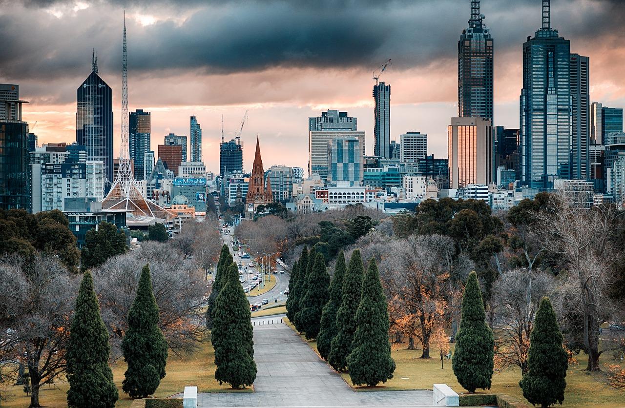 roteiro em Melbourne