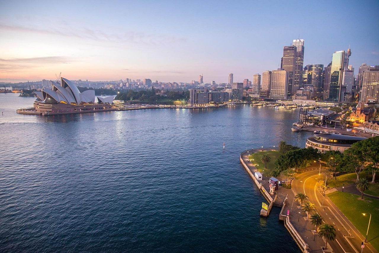 cidades bonitas da austrália