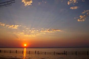 Pôr-do-sol na Ilha da Canela.