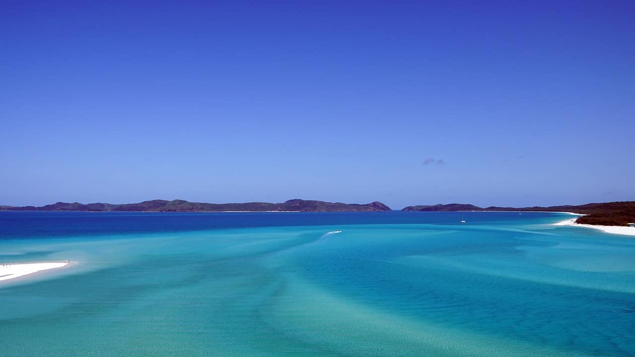 como chegar whitsundays