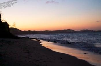 Pôr-do-sol em Pipa.