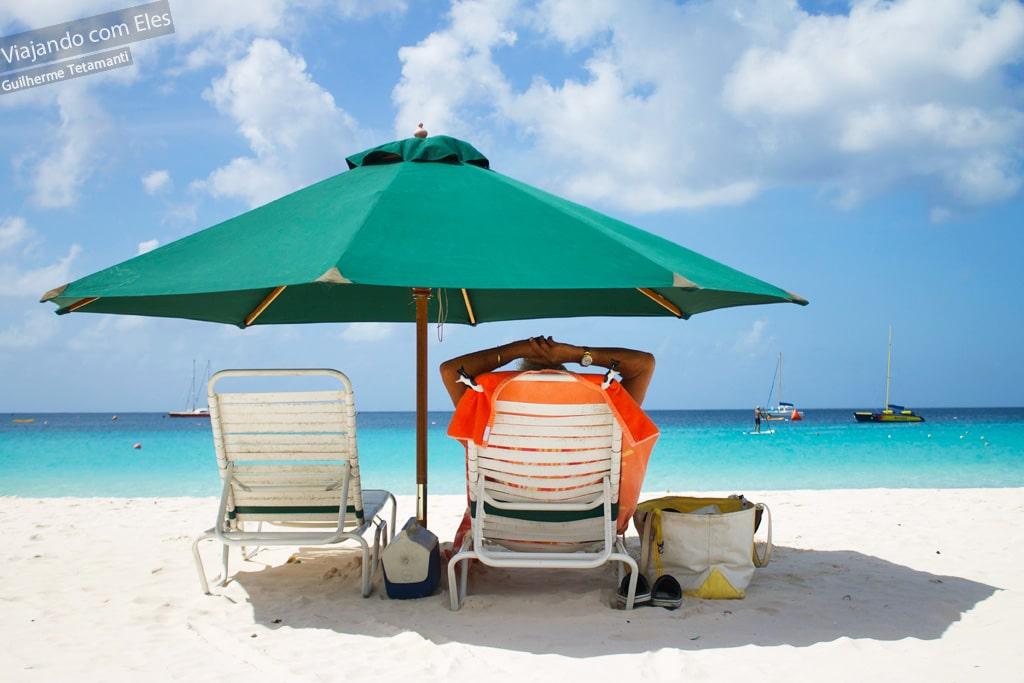 Será a melhor praia de Barbados?
