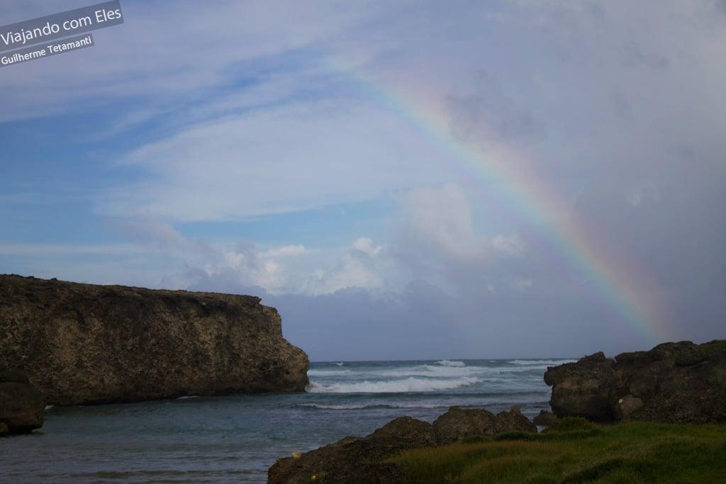 Arco-íris em River Bay - Barbados