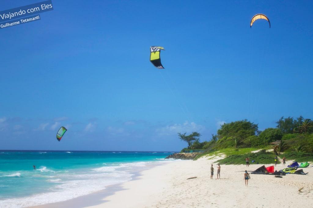 Silver Sands é a praia do kitesurf